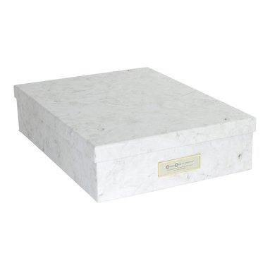 Dokumentbox A4 Oskar marmor 1