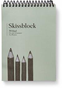 Skissblock A5 80g 70 blad