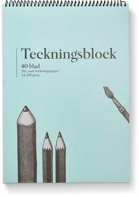 Teckningsblock A3 170g 40 blad