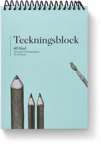 Teckningsblock A5 170g 40 blad
