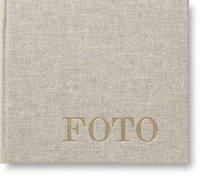 Fotoalbum med 60 fickor Lino grå
