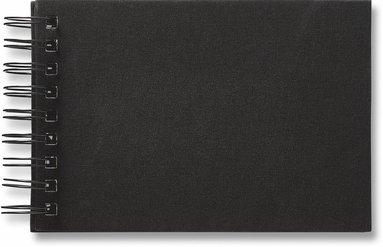 Fotoalbum med 40 fickor spiral Savanna svart