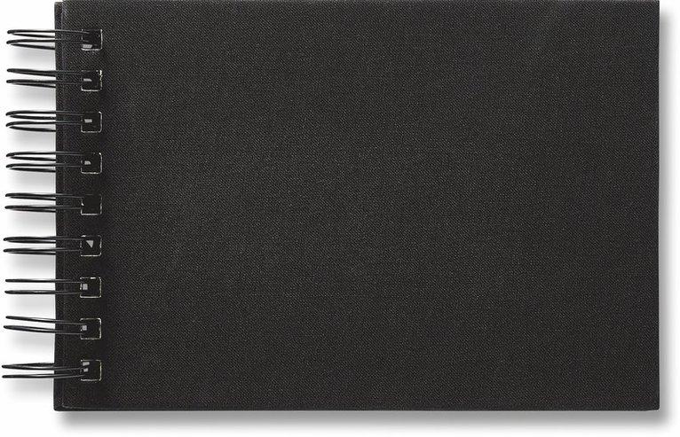 Fotoalbum med 40 fickor spiral Savanna svart 1