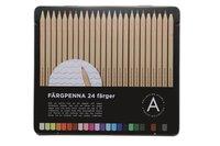 Färgpenna 24 färger