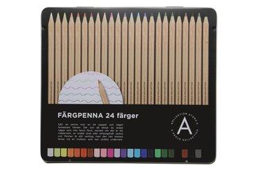 Färgpenna 24 färger 1