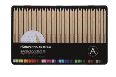 Färgpenna 36 färger 1