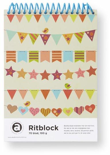 Ritblock A5 vimplar