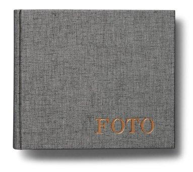 Fotoalbum med 60 fickor Elster grå