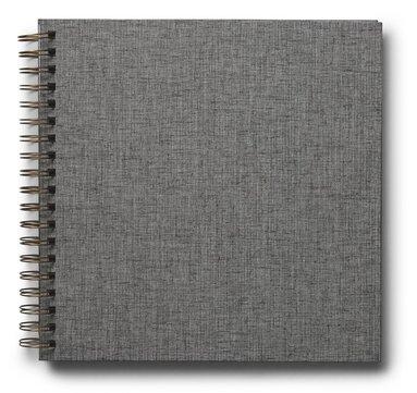 Fotoalbum 245x245mm spiral Elster grå