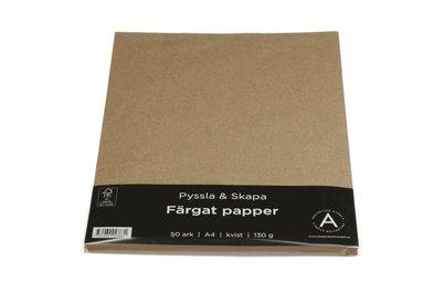 Papper A4 130g 50 ark kvist