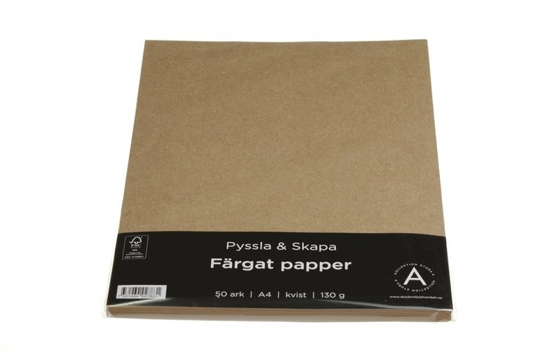 Papper A4 130g 50 ark kvist 1