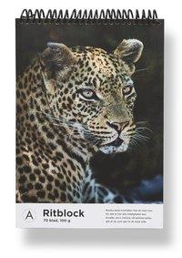Ritblock A4 Mattias A. Klum leopard