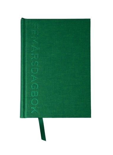 5-årsdagbok A5 grön 1