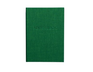 Adressbok A6 grön 1