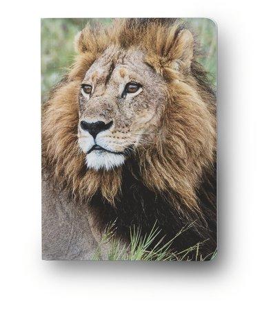 Anteckningsbok A6 linjerad mjuk pärm Mattias A. Klum lejon 1