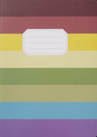 Skrivhäfte A4 olinjerad Linus