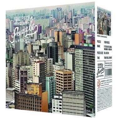 Pussel 1000 bitar Sao Paulo by Jens Assur