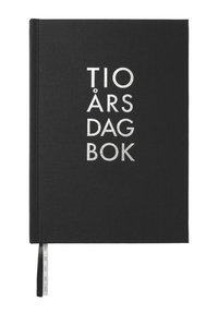 Dagbok 10-års A5 textil svart