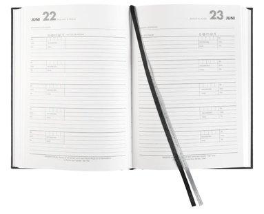 Dagbok 5-års A5 textil svart 2