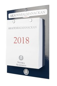 Väggkalender 2018 Akademialmanackan block