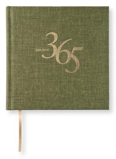 Dagbok 365 textil khakigrön