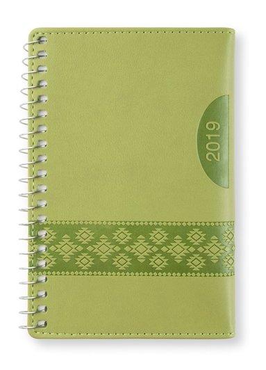 Kalender 2019 mini Dag/Sida Apple green