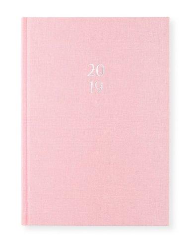 Kalender 2019 A5 Vecka/Sida notes Tea rose