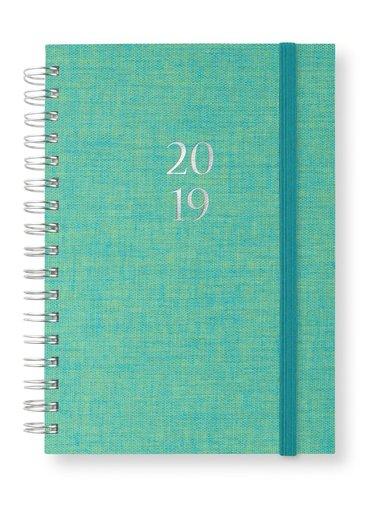 Kalender 2019 A6 Newport spiral Lagun
