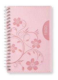 Kalender 2019-2020 mini Vecka/uppslag Pink blossom