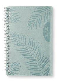 Kalender 2019-2020 mini Vecka/uppslag Palm green