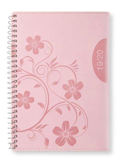 Kalender 2019-2020 midi Vecka/uppslag Pink blossom