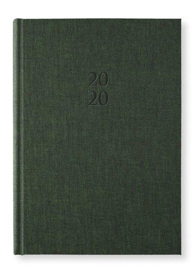 Kalender 2020 A5 Vecka/Uppslag notes Forest green 1