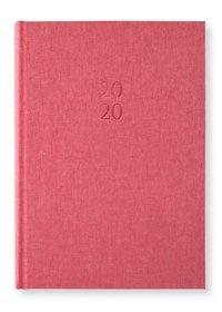 Kalender 2020 A5 Vecka/Uppslag notes Red Twist