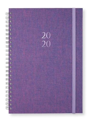 Kalender 2020 A5 Newport spiral Pink purpel 1