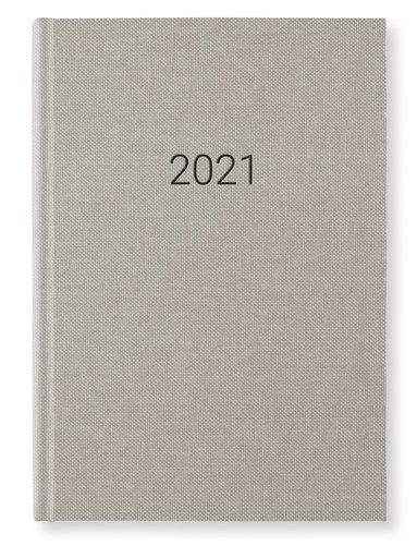 Kalender 2021 A5 Vecka/Sida notes Cold sand 1