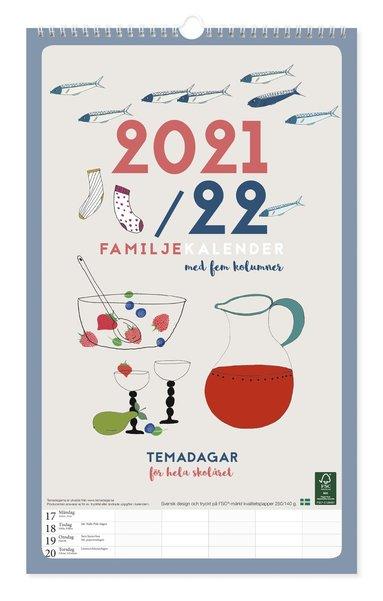 Familjekalender 2021-2022 design Tina Backman 1