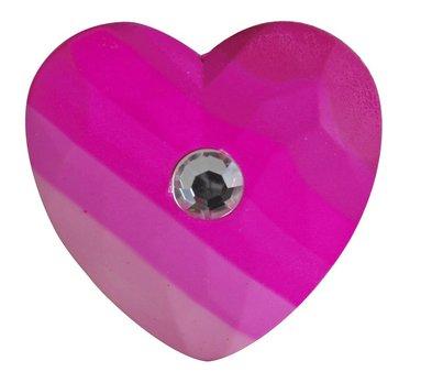Sudd hjärta med sten 1
