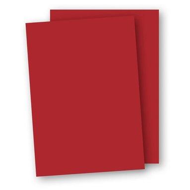 Kartong A4 220g 5-pack röd