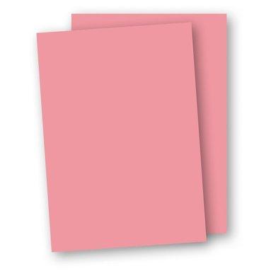 Kartong A4 220g 5-pack rosa