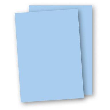 Kartong A4 220g 5-pack ljusblå