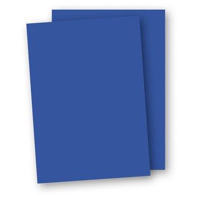Kartong A4 220g 5-pack klarblå