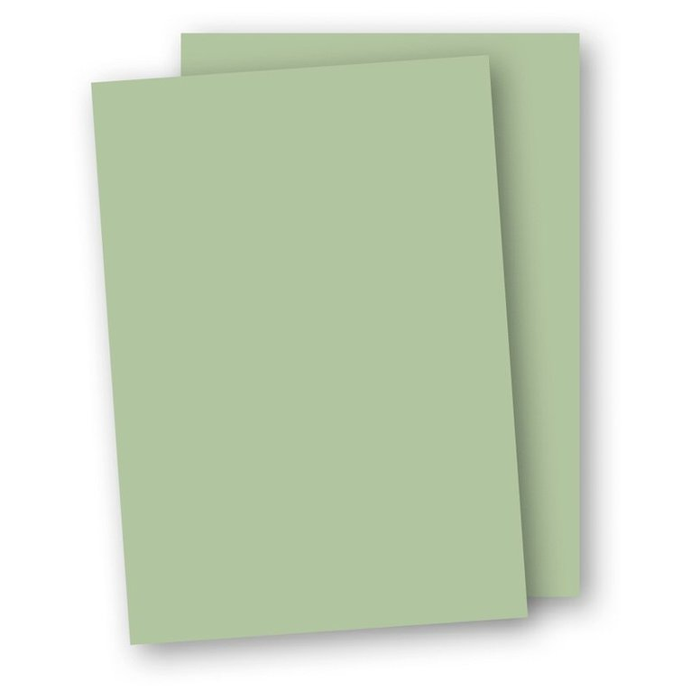 Kartong A4 220g 5-pack ljusgrön 1