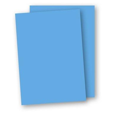 Kartong A4 220g 5-pack azurblå