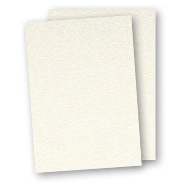 Kartong A4 5-pack pärlemor creme