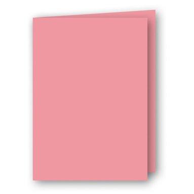 Kort A5 dubbla 5-pack rosa