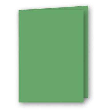 Kort A5 dubbla 5-pack gräsgrön