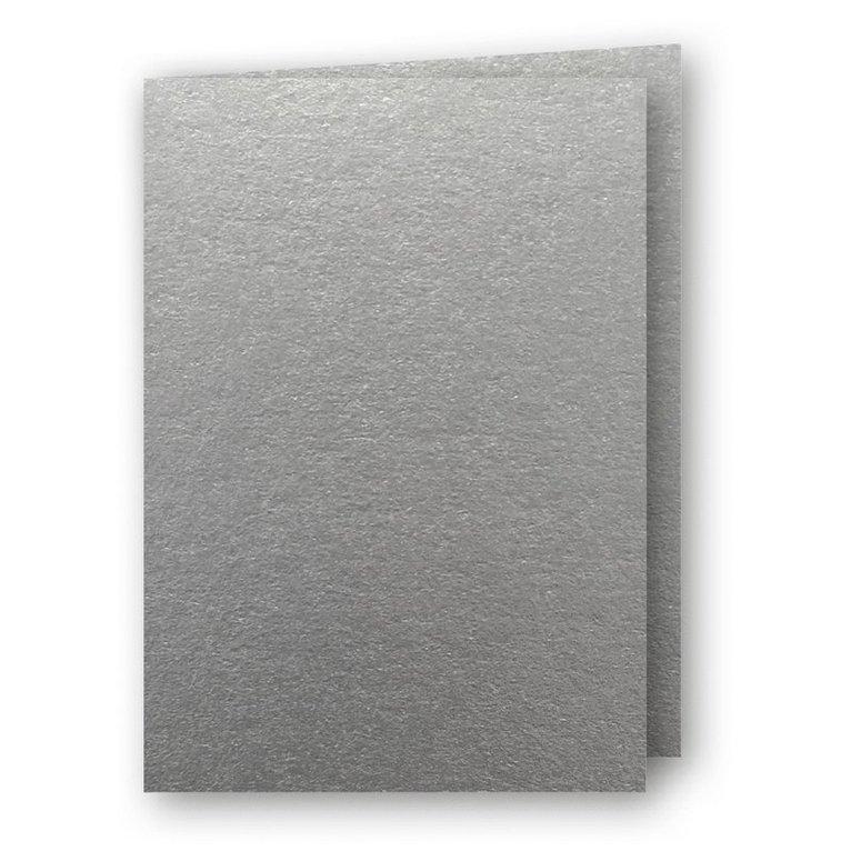 Kort A5 dubbla 5-pack silver 1