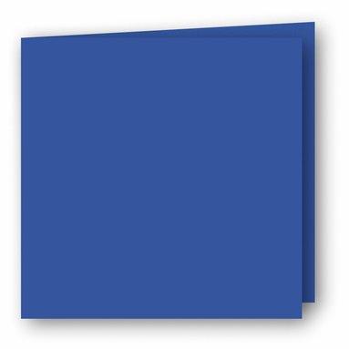 Kort kvadrat dubbla 5-pack klarblå