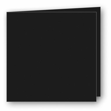 Kort kvadrat dubbla 5-pack svart