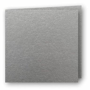 Kort kvadrat dubbla 5-pack silver